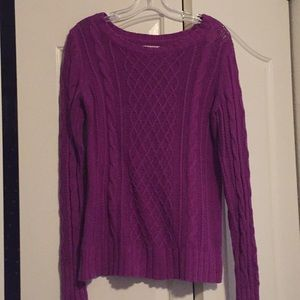 Old Navy Purple Crewneck Sweater Medium